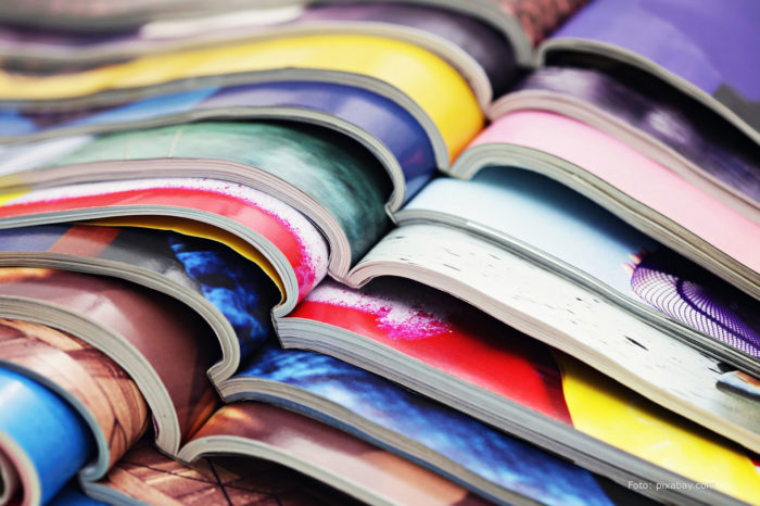 News in the library: magazines