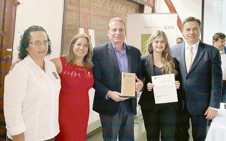 Ingenio Risaralda obtuvo Reconocimiento a la Excelencia en la Gestión Ambiental
