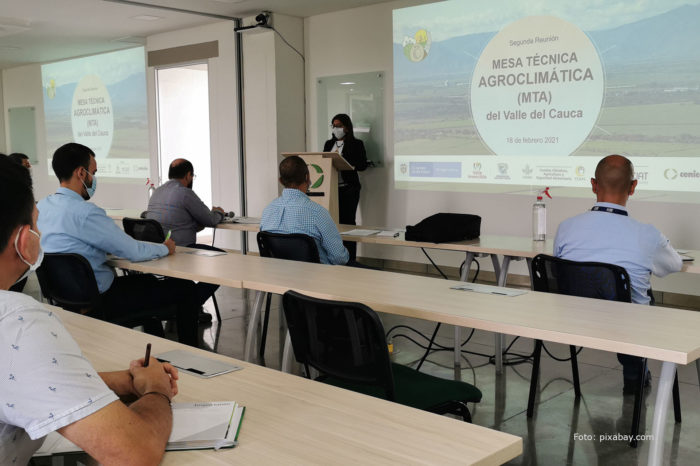 Cenicaña hosted the Agroclimatic Technical Table of Valle del Cauca